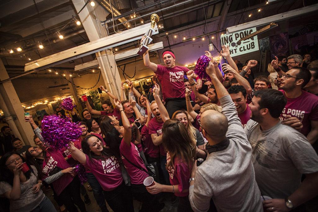 PPFC Champion held aloft