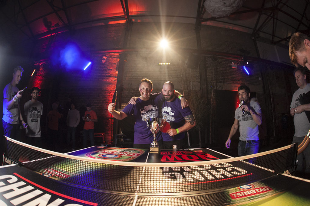Ping Pong Fight Club Camp And Furnace Liverpool Finalists