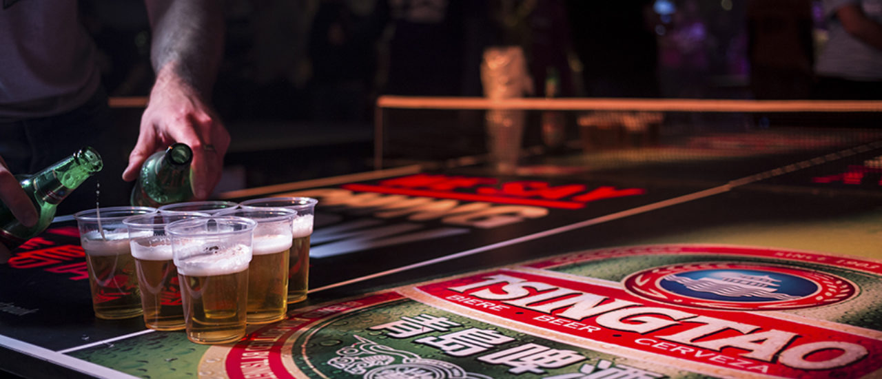 Tsingtao Beer Table