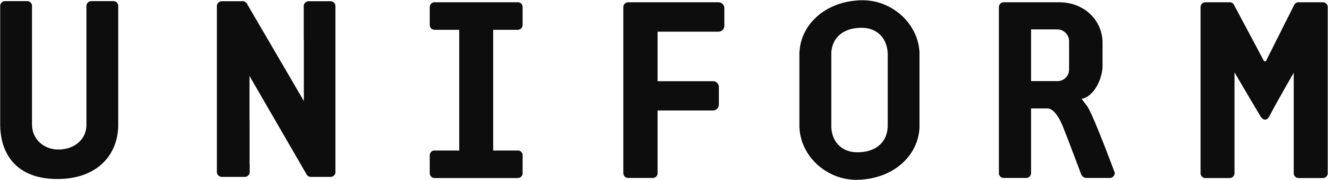 Logo Uniform 95 K Black 01